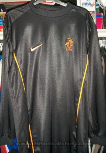 Netherlands Goalkeeper football shirt 1998 - 2000