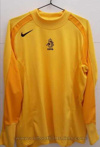 Netherlands Goalkeeper football shirt 2004 - 2005