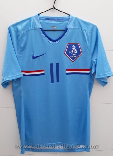 Netherlands Away football shirt 2008 - 2009