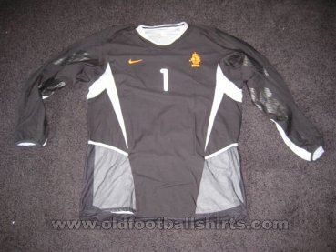 Netherlands Goalkeeper football shirt 2003