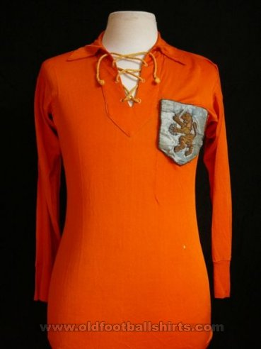 Netherlands Home football shirt 1928 - 1958