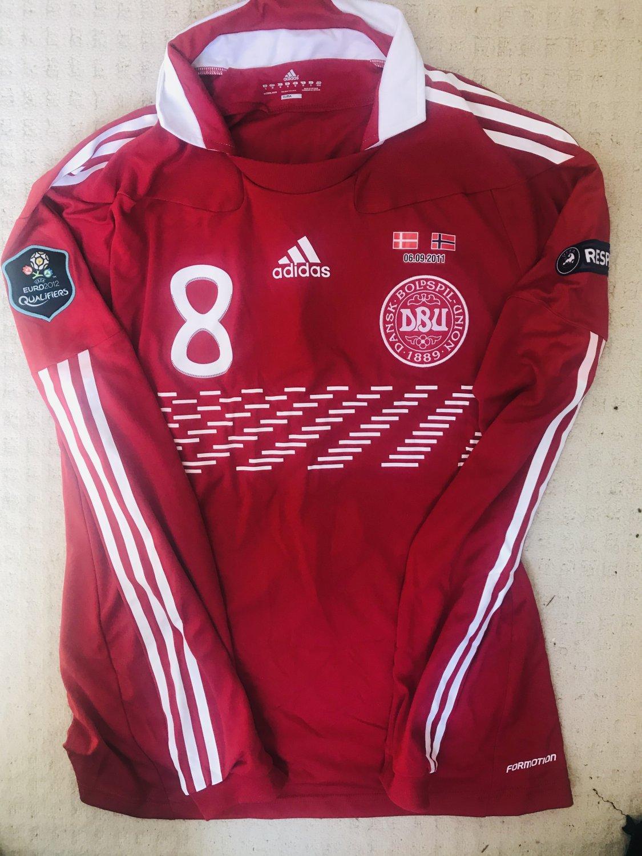 91344a483 Denmark Home maglia di calcio 2010 - 2011.