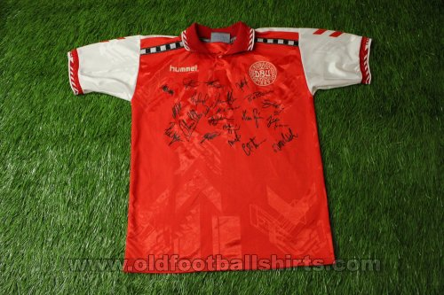 Denmark Home football shirt 1996 - 1998