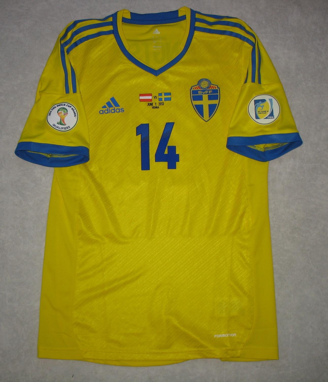 Sweden 2018 World Cup Home Football Shirt