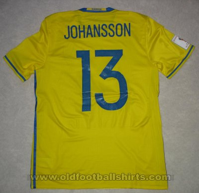 Sweden Home football shirt 2016 - 2017
