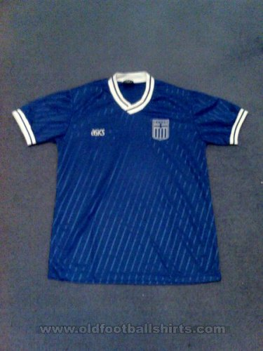 Greece Home Camiseta de Fútbol 1989 - 1991