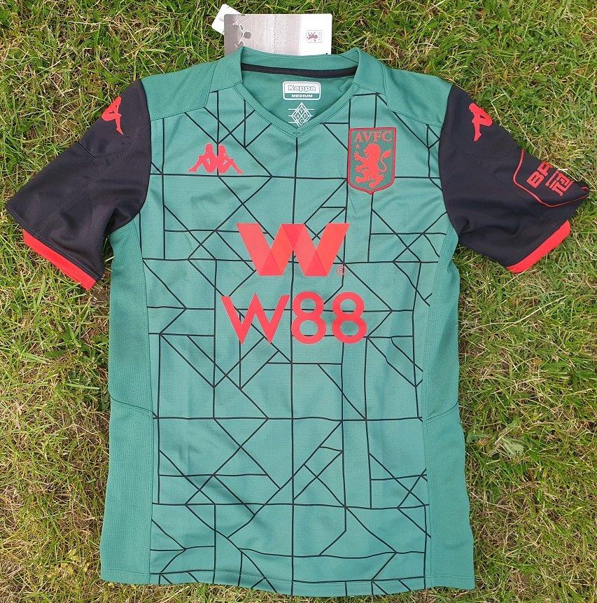 New Season Aston Villa Third Football Shirt 2019 2020 Sponsored By W88