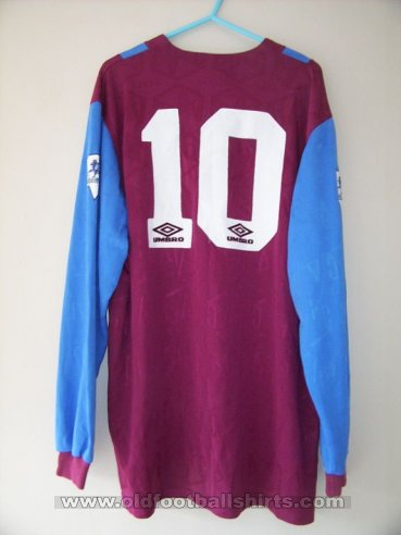 Aston Villa Home football shirt 1992 - 1993