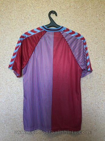 Aston Villa Home football shirt 1987 - 1989