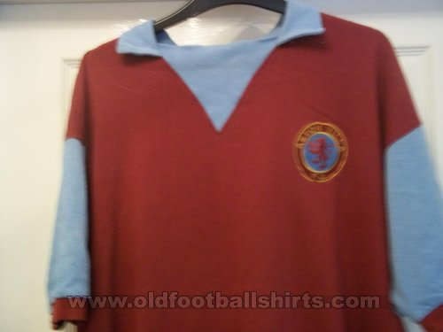 Aston Villa Retro Replicas football shirt 1973 - 1975
