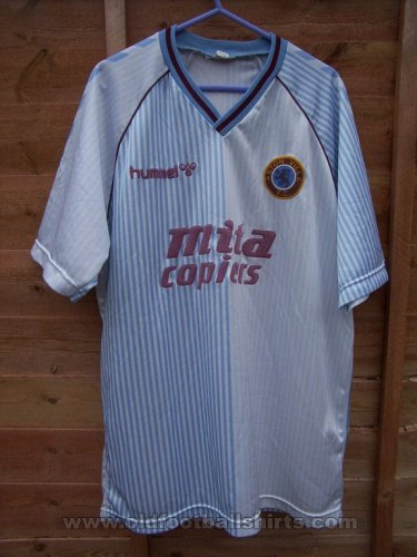 Aston Villa Away football shirt 1987 - 1989