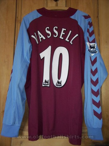 Aston Villa Home football shirt 2004 - 2005