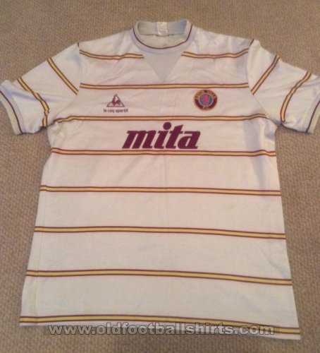 Aston Villa Away football shirt 1983 - 1984