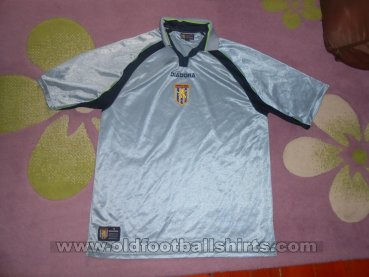 Aston Villa Away football shirt 2001 - 2002