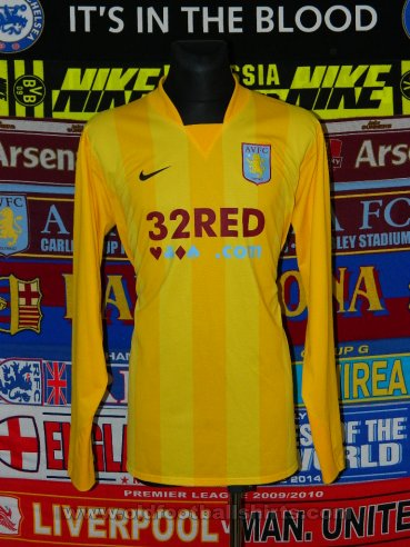 Aston Villa Goalkeeper football shirt 2007 - 2008