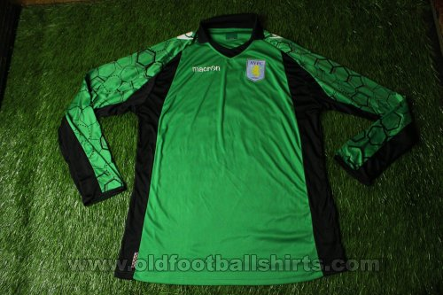 Aston Villa Goalkeeper football shirt 2012 - 2013