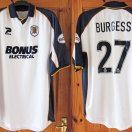 Hull City football shirt 2002 - 2004