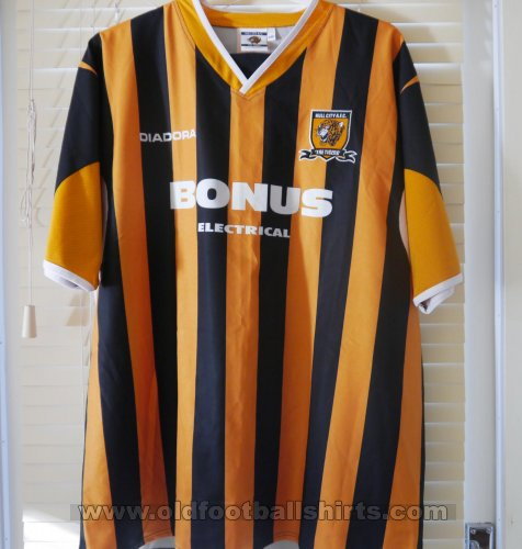 Hull City Home baju bolasepak 2005 - 2006
