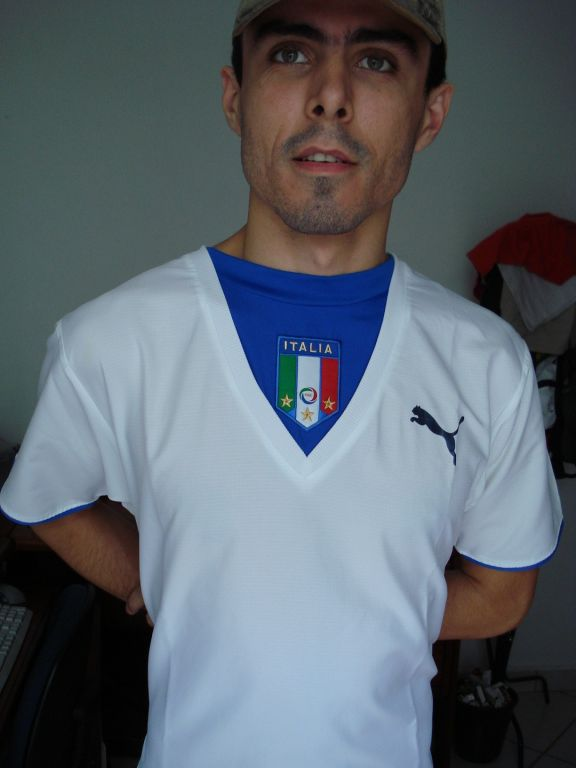 Italy Visitante Camiseta de Fútbol 2006 - 2007