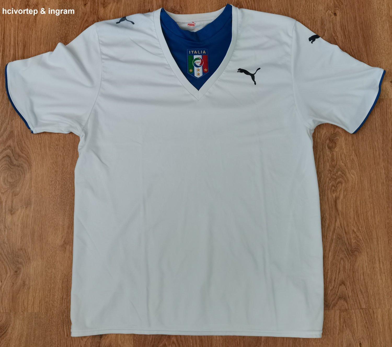 Italy Away football shirt 2006 - 2008.