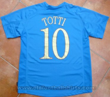 Italy Retro Replicas football shirt 2004 - 2006
