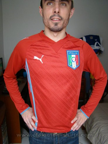 Italy Goalkeeper Maillot de foot 2009