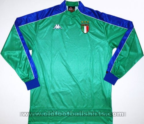 Italy Goalkeeper football shirt 1998 - 2000