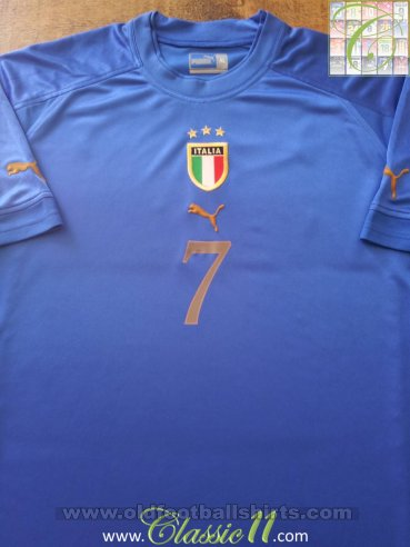 Italy Home football shirt 2004 - 2006