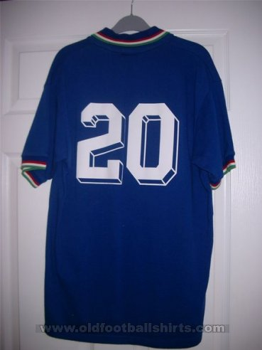 Italy Retro Replicas football shirt 1982