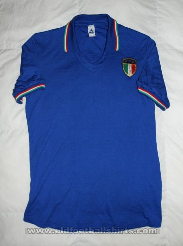 Italy Home football shirt 1983 - 1985