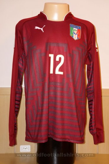 Italy Goalkeeper football shirt 2014 - 2015