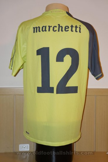 Italy Goalkeeper football shirt 2010 - 2011