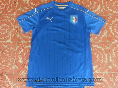 Italy Home football shirt 2016 - 2018