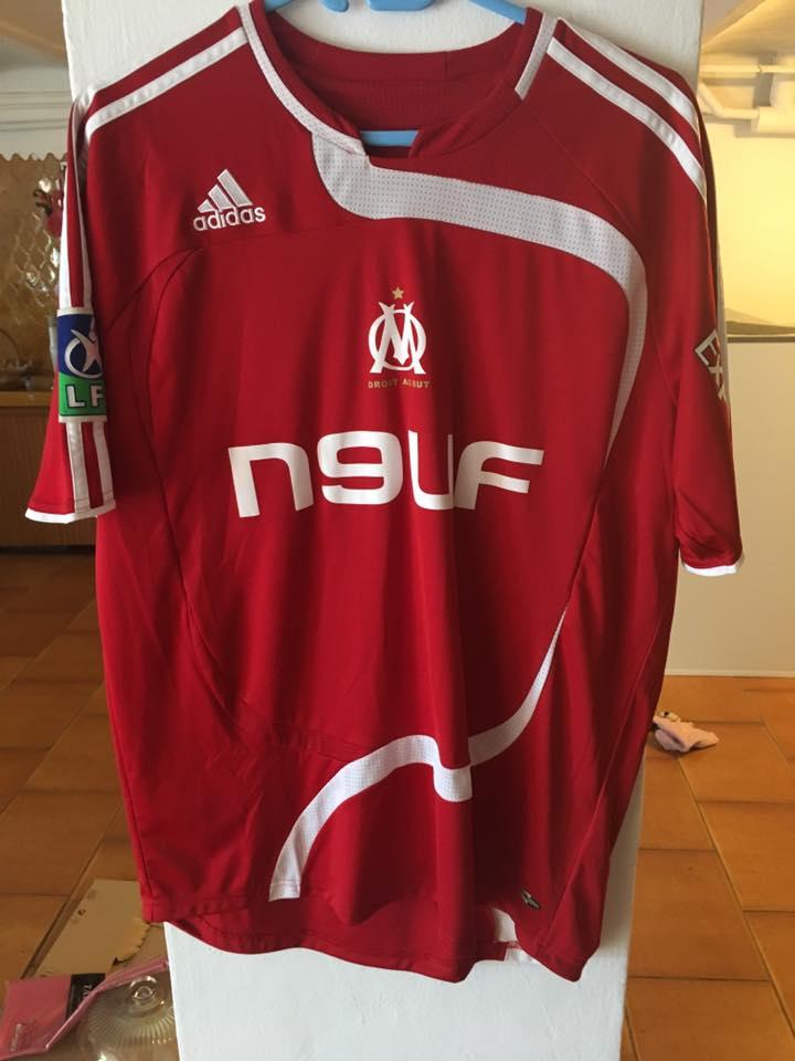 Olympique Marseille Portiere maglia di calcio 2007 - 2008 ...