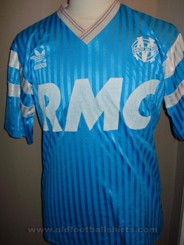 Olympique Marseille Away football shirt 1989 - 1990