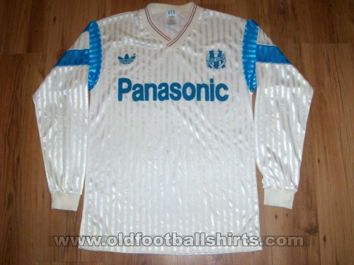 Olympique Marseille Home футболка 1990 - 1991
