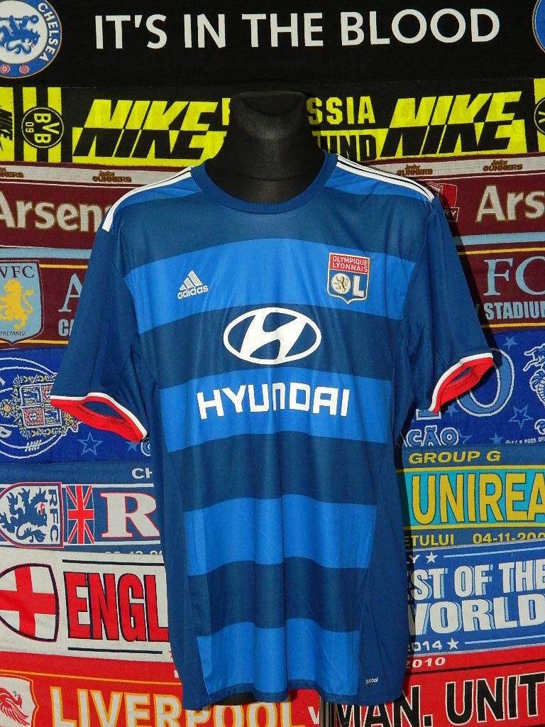 super popular 57581 98e24 Olympique Lyonnais Away football shirt 2016 - 2017.