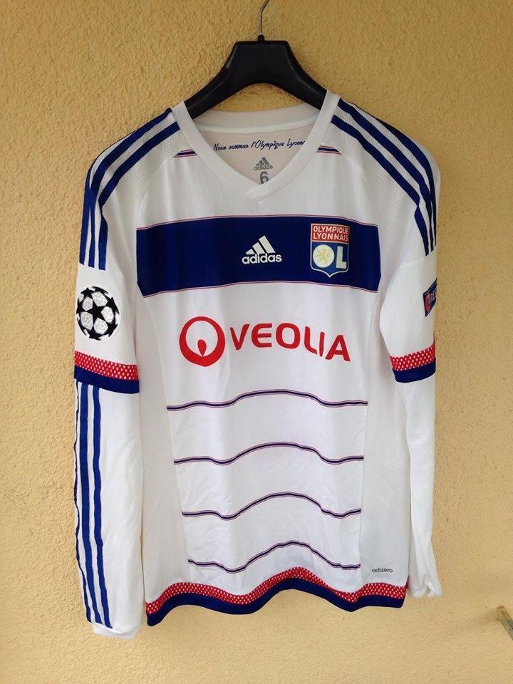 reputable site 54bf2 85617 Olympique Lyonnais Cup Shirt camisa de futebol 2015 - 2016.