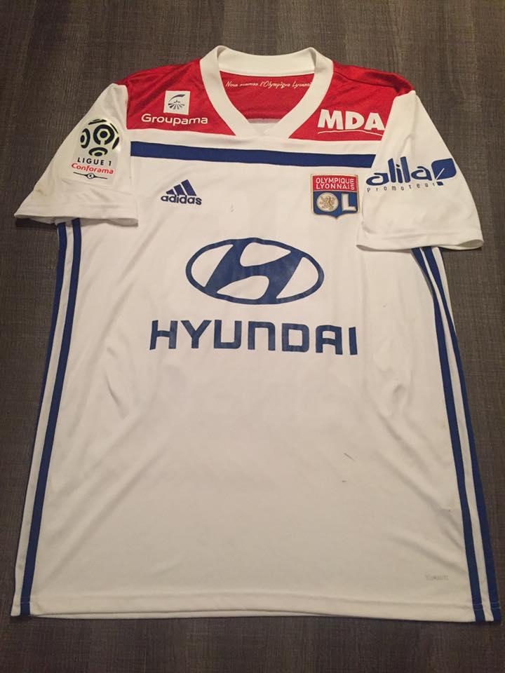 Olympique Lyonnais Home maglia di calcio 2018 - 2019.