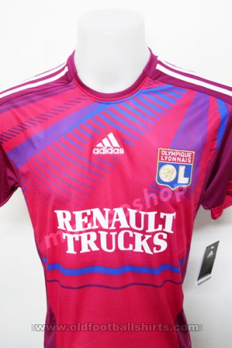 Olympique Lyonnais Away football shirt 2011 - 2012
