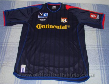 Olympique Lyonnais Away football shirt 2002 - 2003