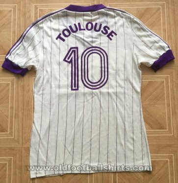 Toulouse Away voetbalshirt  1982 - 1983