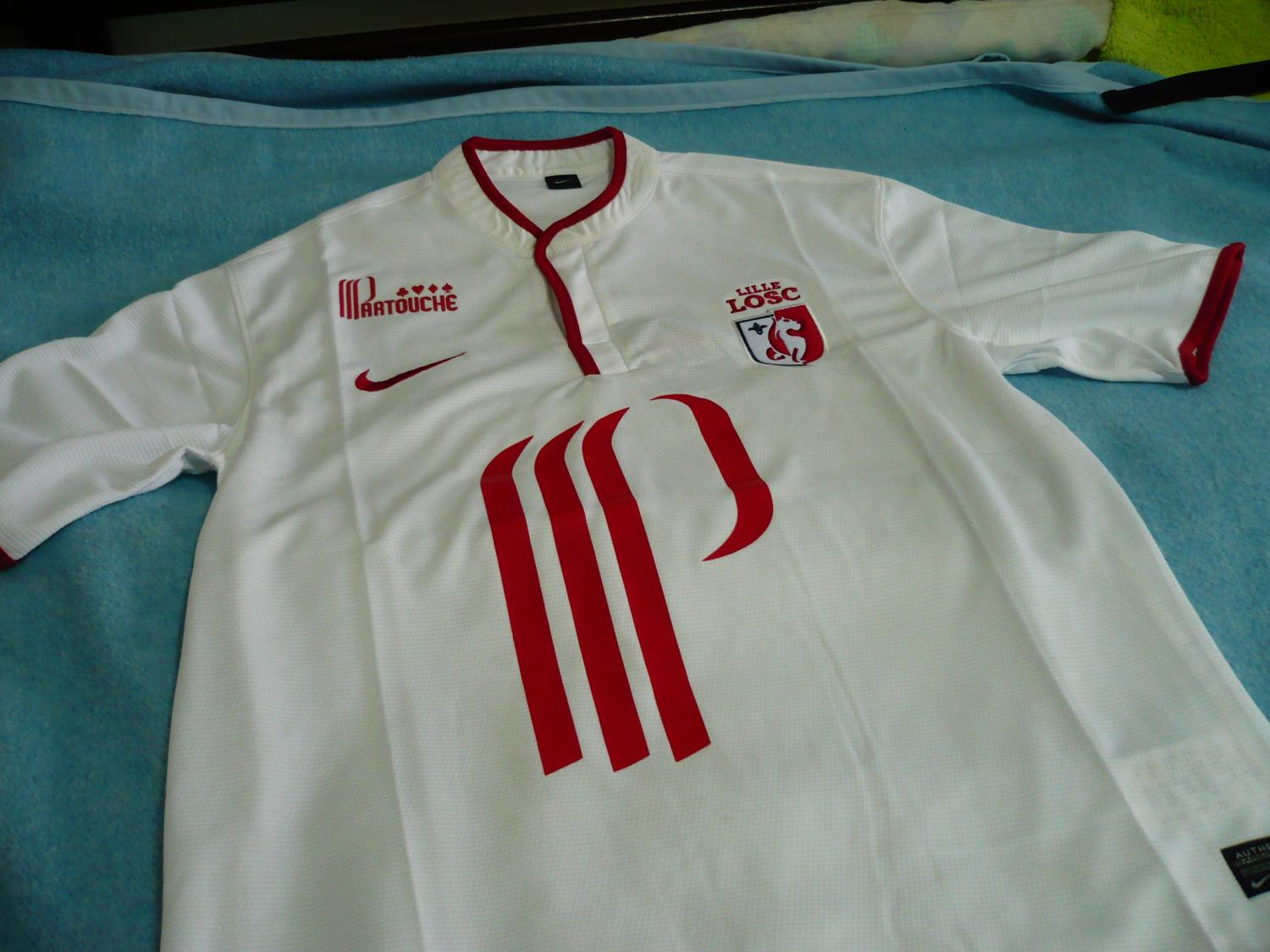 Lille away football shirt 2013 2014 added on 2014 02 21 22 21 - Boutique vintage lille ...