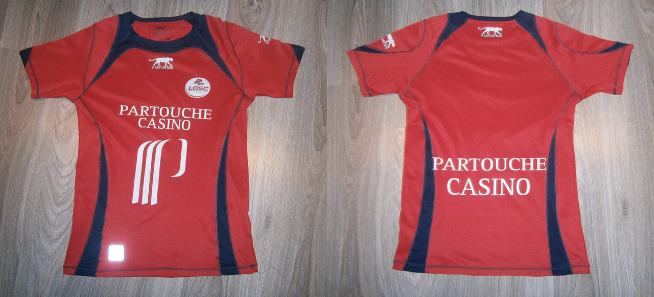 Lille home football shirt 2006 2007 added on 2014 03 12 17 29 - Boutique vintage lille ...