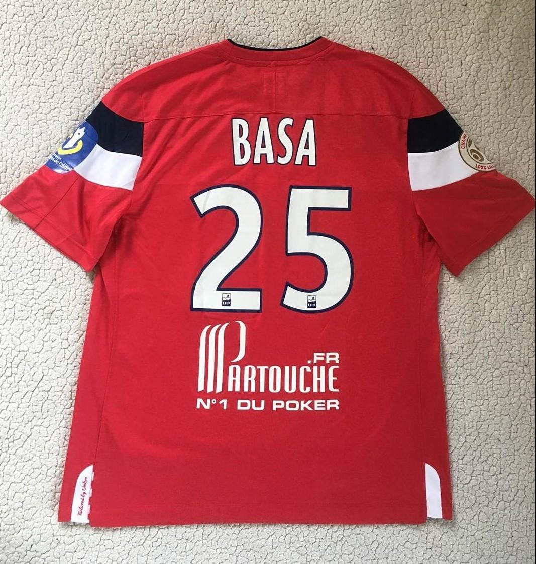 brand new 1cc27 fcc9f Lille Home maglia di calcio 2011 - 2012.