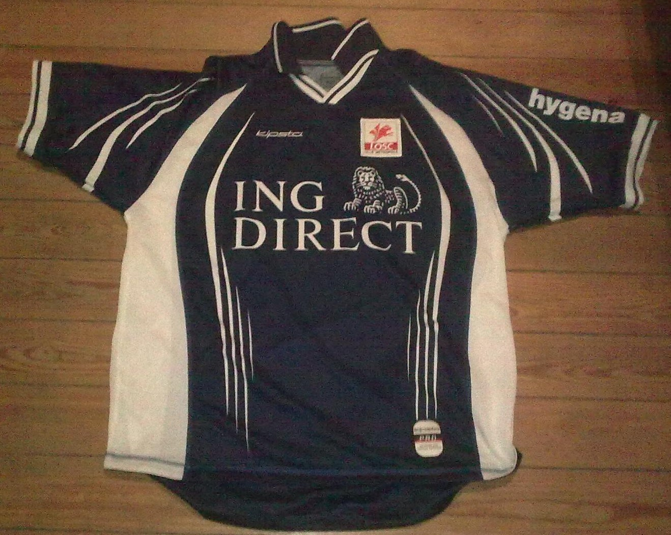 Lille third football shirt 2001 2002 added on 2012 01 31 16 58 - Boutique vintage lille ...