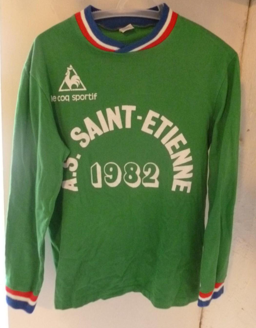 maillot entrainement saint etienne de foot