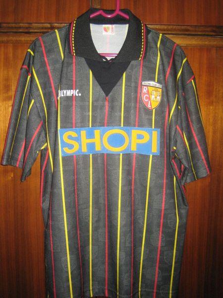 maillot rc Lens shopi  1996 rare vintage