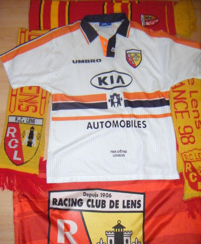 Lens Exterieur Maillot De Foot 1997 1998