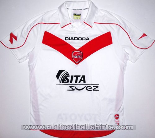 Valenciennes Away football shirt 2008 - 2009